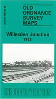 Willesden Junction 1913: London Sheet 046.3 - Old Ordnance Survey Maps of London (Sheet map, folded)