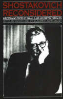 Shostakovich Reconsidered (Paperback)
