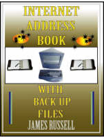 Internet Address Book: With Computer Back Up Files (Paperback)