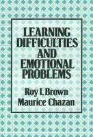 Learning Difficulties and Emotional Problems (Paperback)