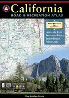 Benchmark California Road & Recreation Atlas, 7th Edition: State Recreation Atlases (Paperback)