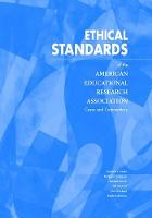 Ethical Standards of the American Educational Research Association: Cases and Commentary (Paperback)