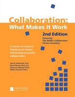 Collaboration: What Makes It Work (Paperback)