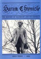 """The Sarum Chronicle"": Issue Three: 2003"