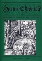 Sarum Chronicle: v. 9