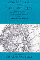 Wainwright Maps of the Lakeland Fells: The Central Fells Map 3 - Wainwright maps 3 (Sheet map, folded)