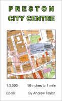 Preston City Centre Map (Sheet map, folded)