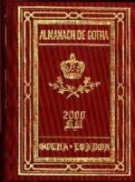 Almanach de Gotha: Sovereign Houses of Europe and South America v. 1, Pt . 1 (Hardback)