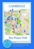 Cambridge Blue Plaque Walk: Colour Map and Spotters Guide - Maps 1 (Sheet map, folded)
