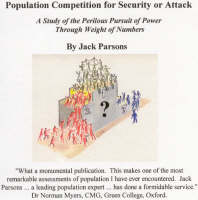 Population Competition for Security or Attack: A Study of the Perilous Pursuit of Power Through Weight of Numbers (CD-ROM)