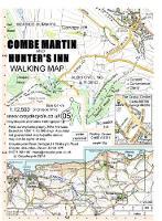 Combe Martin and Hunter's Inn Walking Map - walking map 05 (Sheet map, folded)