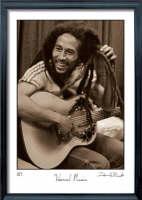 Visual Music: First Ever Published Photographs of Bob Marley (Hardback)