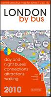 London by Bus (2010): Day and Night Buses, Connections, Attractions, Walking - All-On-One (Sheet map, folded)