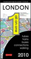 London All-on-one 2010: Trains, Tubes, Buses, Connections, Walking - All-On-One (Sheet map, folded)