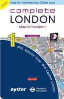 Complete London: Map of Transport - All-on-One (Microscale) (Sheet map, folded)