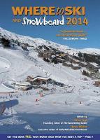 Where to Ski & Snowboard 2014 (Paperback)