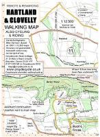 Hartland & Clovelly Walking Map - walking map 11 (Sheet map, folded)