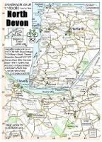 North Devon 1:100,000 - cycle map 82 (Sheet map, folded)