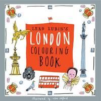 Zero Lubin's London Colouring Book - Zero Lubin's Colouring and Activity Books 4 (Paperback)