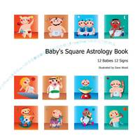 Baby's Square Astrology Book: 12 Babies 12 Signs (Hardback)