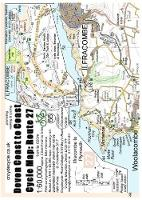 Devon Coast to Coast Cycle Map Route 27: 1:60,000 Ilfracombe to Plymouth - cycle map 66 (Sheet map, folded)