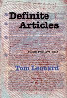 Definite Articles: Selected Prose 1973-2012 (Paperback)