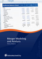 Merger Modeling and Analysis