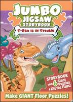 Jumbo Jigsaw Storybook: T-Rex is in Trouble