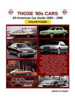 Those 80s Cars - American Catalog - Color Pages (Paperback)