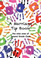 A Marriage Tip Book (Paperback)