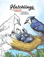 Hatchlings: A Coloring Book Anthology - Coloring Nature 1 (Paperback)