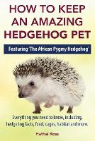 How to Keep an Amazing Hedgehog Pet. Featuring 'The African Pygmy Hedgehog' !!