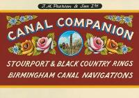 Pearson's Canal Companion - Stourport Ring & Black Country Rings Birmingham Canal Navigations