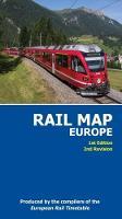 Rail Map of Europe 2017