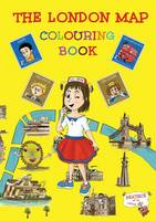 The London Map Colouring Book (Paperback)