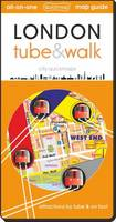 London Tube and Walk 2019: Attractions by Tube & on Foot - All-on-One (Sheet map, folded)