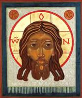 The Holy Face of Christ Icon Card