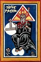 God the Father Icon Card
