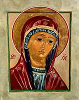 Our Lady of Springfield Icon Card