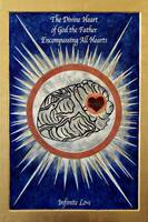Icon Card of the Divine Heart of God the Father Encompassing All Hearts