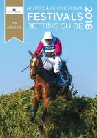 Aintree & Punchestown Festivals Betting Guide 2018 (Paperback)