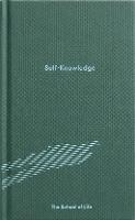 Self-Knowledge (Hardback)