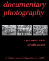 documentary photography: a personal view (Paperback)