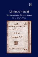 Marlowe's Ovid: The Elegies in the Marlowe Canon (Paperback)