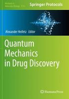 Quantum Mechanics in Drug Discovery - Methods in Molecular Biology 2114 (Paperback)