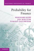 Probability for Finance - Mastering Mathematical Finance (Hardback)