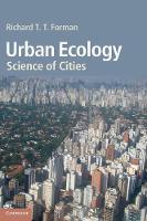Urban Ecology: Science of Cities (Hardback)