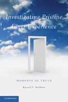 Investigating Pristine Inner Experience: Moments of Truth (Hardback)