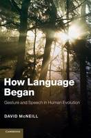 How Language Began: Gesture and Speech in Human Evolution - Approaches to the Evolution of Language (Hardback)