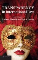 Transparency in International Law (Hardback)